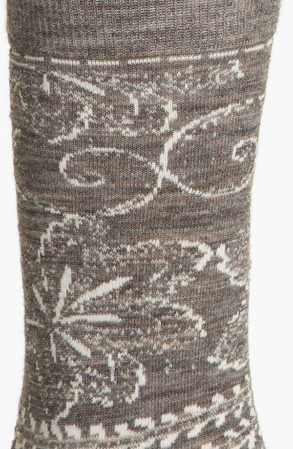 Alternate Image 2  - Smartwool 'Floral Scroll' Socks