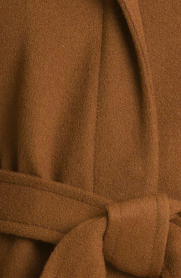 Alternate Image 3  - Ellen Tracy Colorblock Coat with Genuine Fox Fur Trim