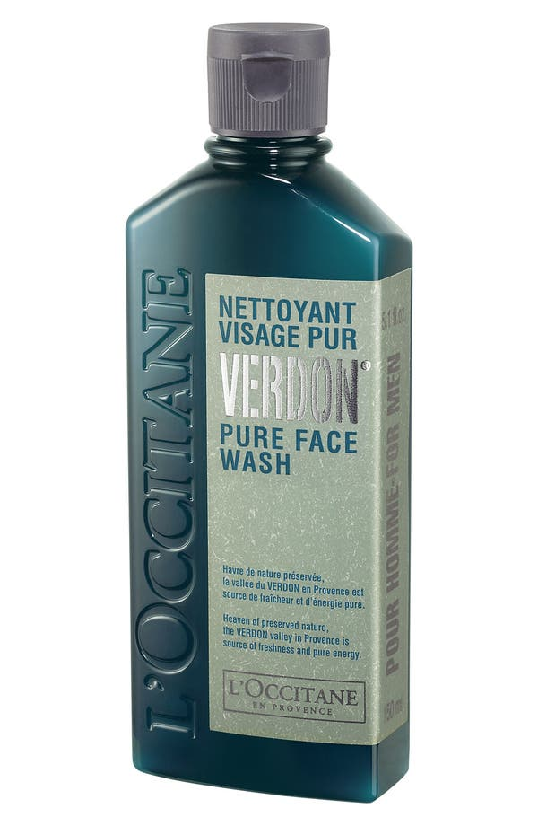 Alternate Image 1 Selected - L'Occitane 'Pour Homme - Verdon®' Pure Face Wash