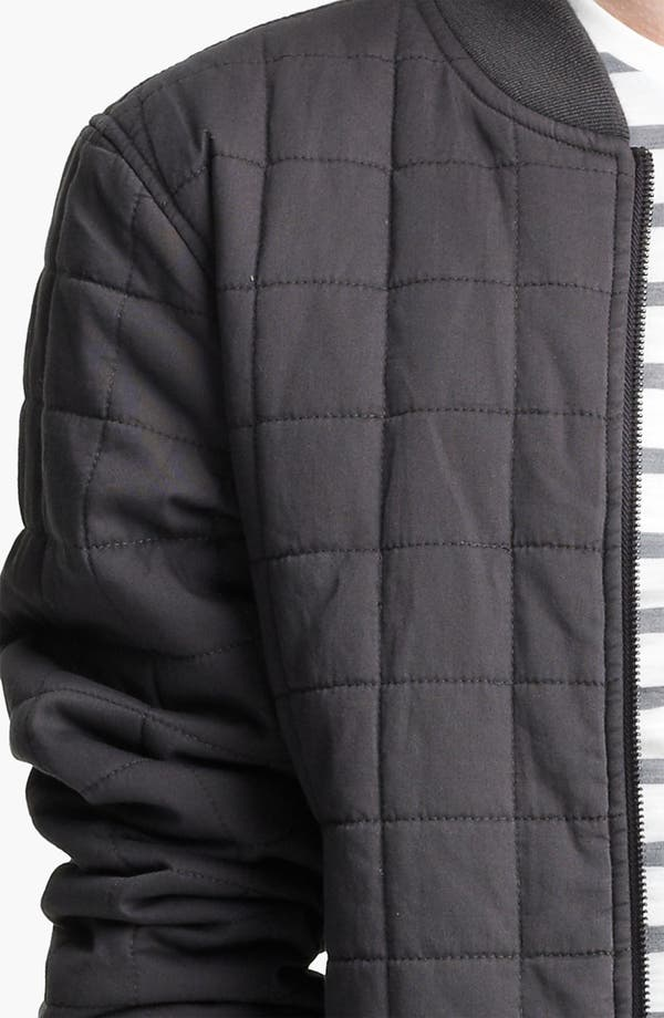 Alternate Image 3  - Topman Quilted Bomber Jacket