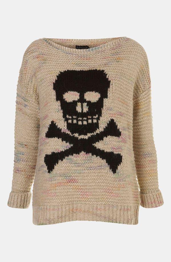 Main Image - Topshop 'Skull' Sweater