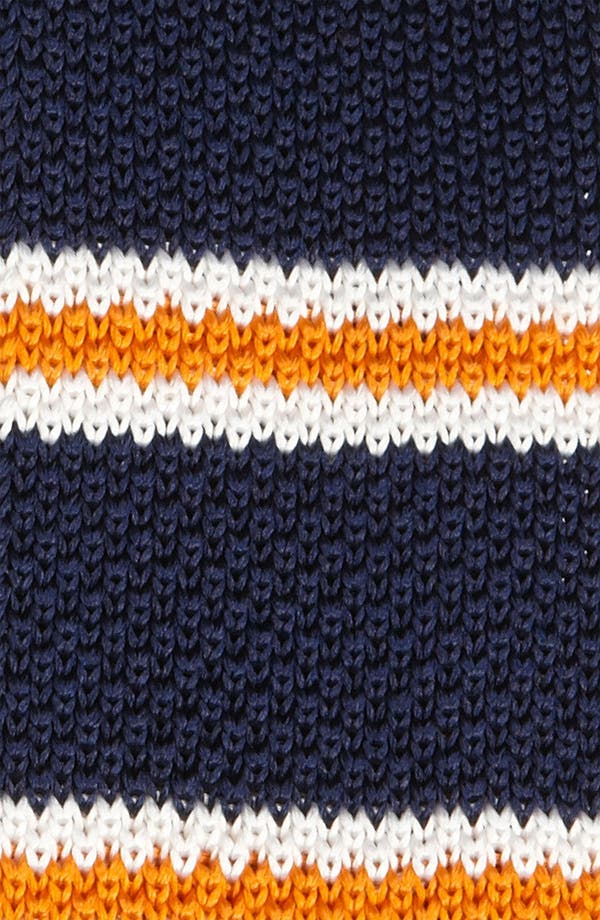 Alternate Image 3  - The Tie Bar Knit 'Country Stripe' Knit Tie