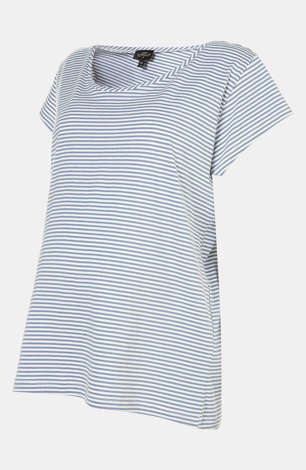 Alternate Image 2  - Topshop Stripe Maternity Pajama Tee