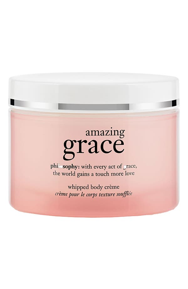 Main Image - philosophy 'amazing grace' whipped body crème