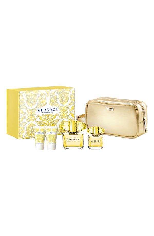 Main Image - Versace 'Yellow Diamond' Deluxe Set