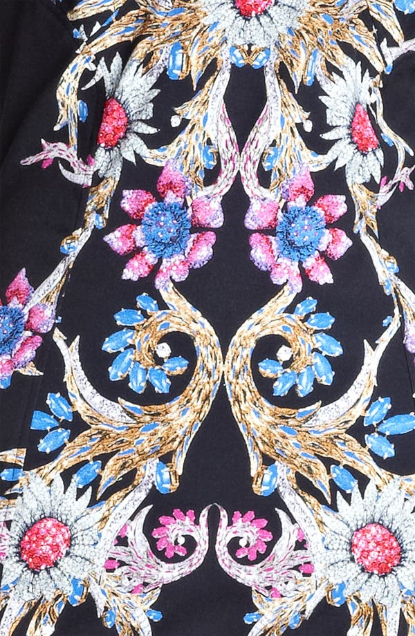 Alternate Image 3  - Roberto Cavalli Print Square Neck Dress