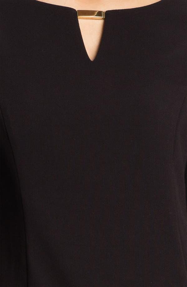 Alternate Image 3  - Eliza J Keyhole Knit Shift Dress