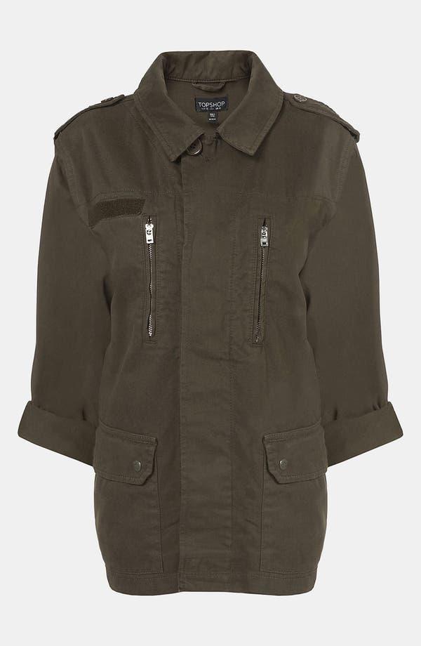 Alternate Image 4  - Topshop Army Jacket