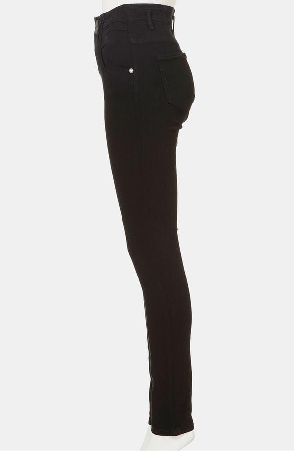 Alternate Image 4  - Topshop Moto 'Kristen' High Waist Skinny Jeans