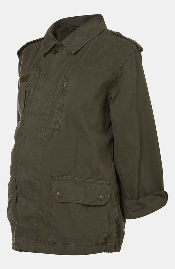 Alternate Image 2  - Topshop Maternity Utility Jacket