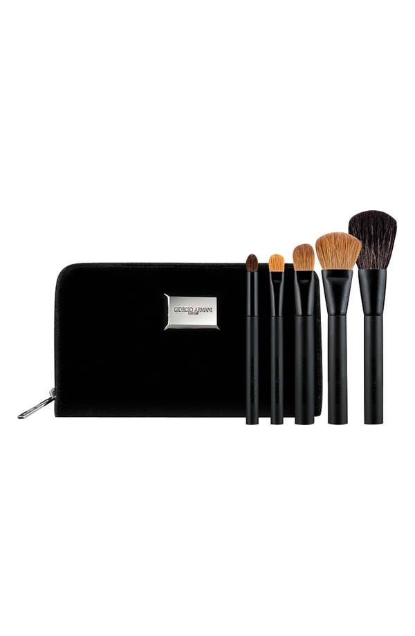 Alternate Image 1 Selected - Giorgio Armani Brush Set ($300 Value)