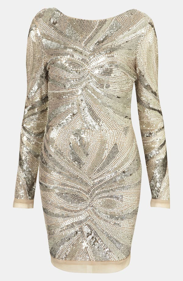 Main Image - Topshop Embellished Body-Con Dress