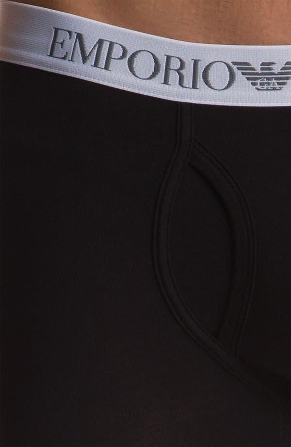 Alternate Image 3  - Emporio Armani 'Basic' Stretch Leggings