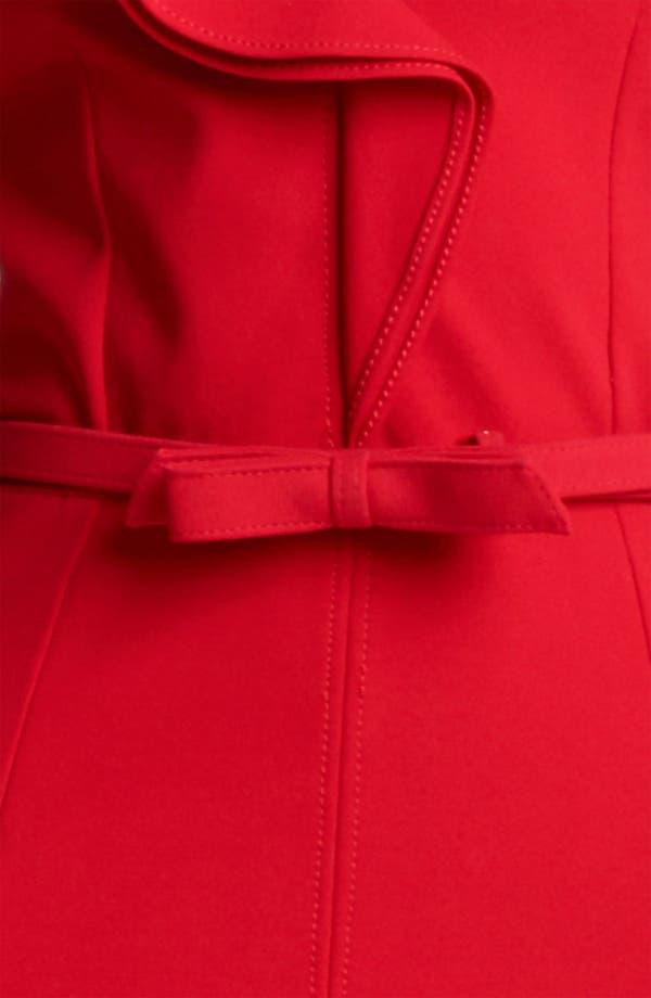 Alternate Image 3  - Valentino Compact Jersey Sheath Dress with Bow Belt