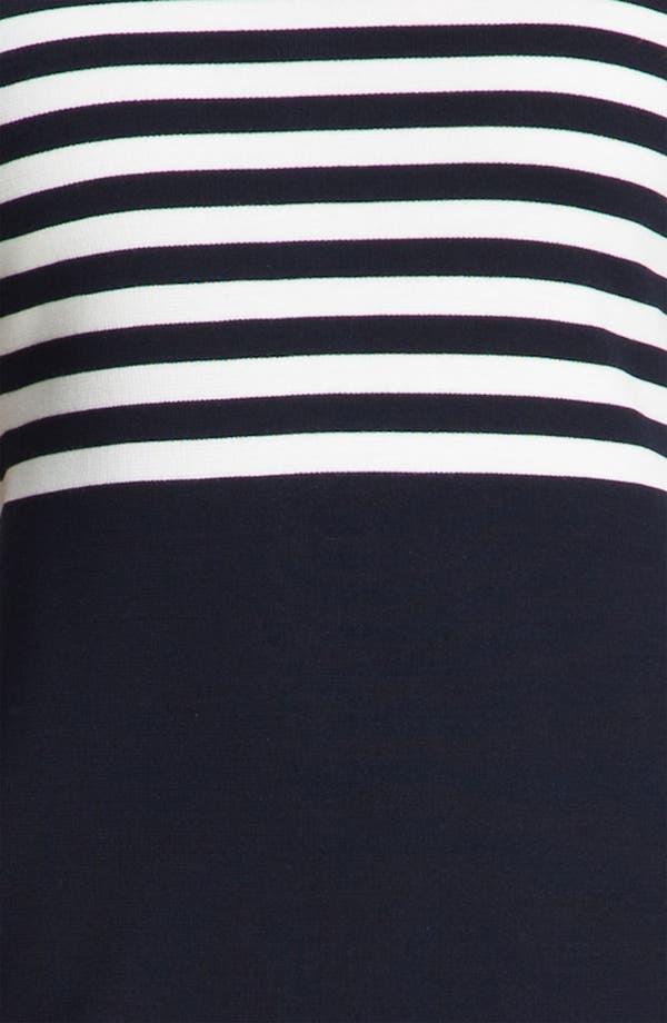 Alternate Image 3  - St. John Collection Stripe Milano Knit Dress