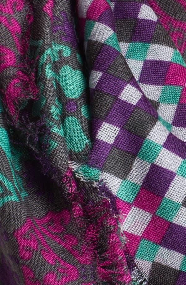 Alternate Image 2  - Trouvé 'Optik Geo' Wool Scarf