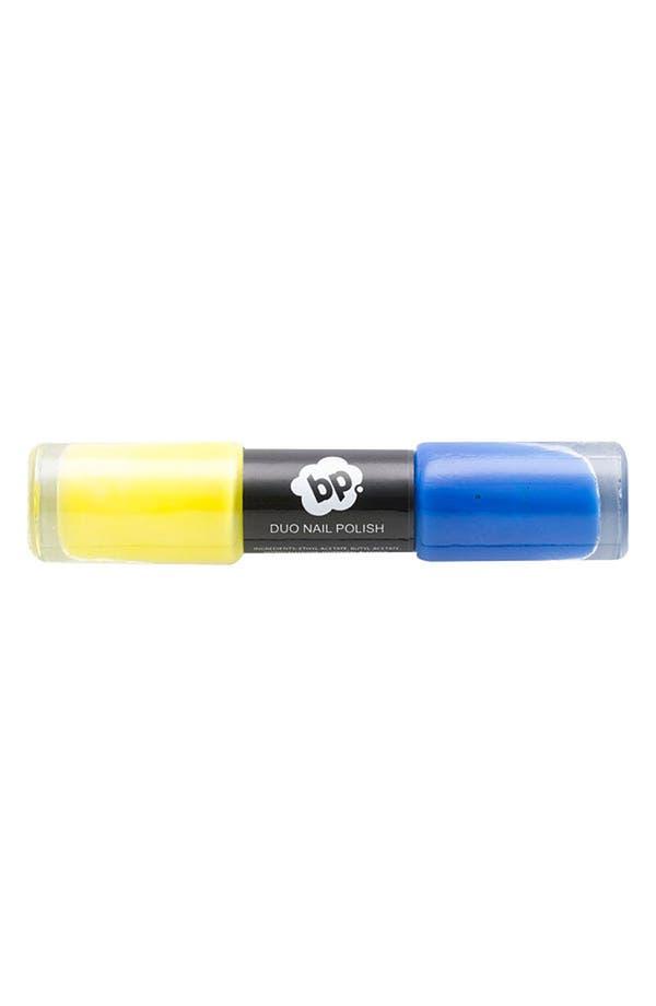 Alternate Image 1 Selected - BP. 'Lemon & Cobalt' Nail Polish Duo