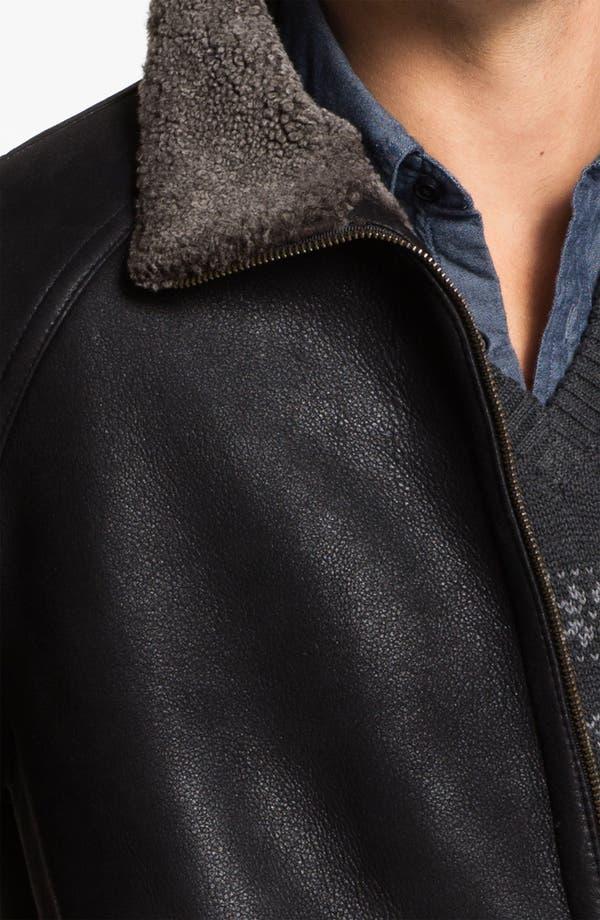 Alternate Image 3  - Blue Duck Leather Jacket