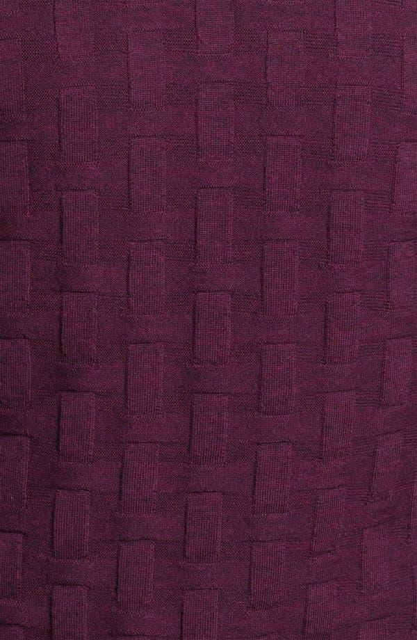 Alternate Image 3  - Bugatchi Uomo Crewneck Merino Wool Sweater