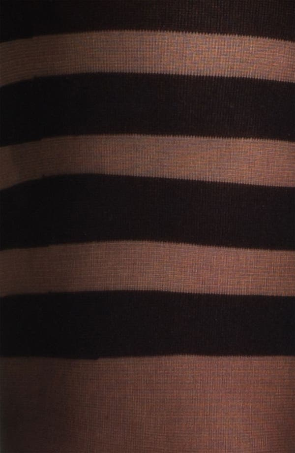 Placed Stripe Tights,                             Alternate thumbnail 2, color,                             Black