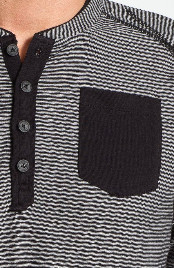 Alternate Image 3  - J.C. Rags Stripe Raglan Sleeve Henley