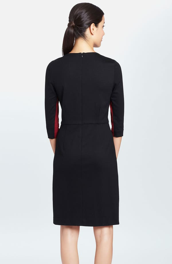 Alternate Image 2  - Cynthia Steffe 'Selma' Colorblock Ponte Sheath Dress