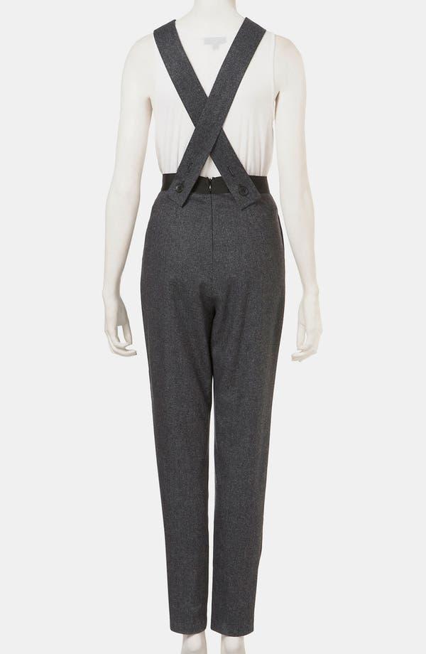 Alternate Image 2  - Topshop 'Amber' Tweed Jumpsuit