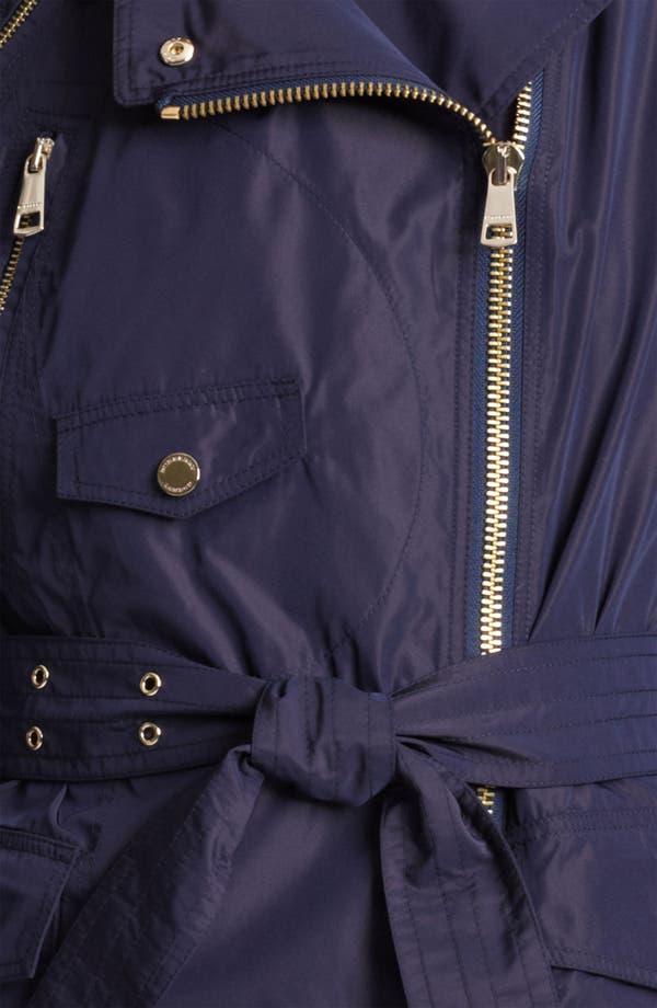 Alternate Image 3  - Burberry London Asymmetrical Taffeta Trench Coat