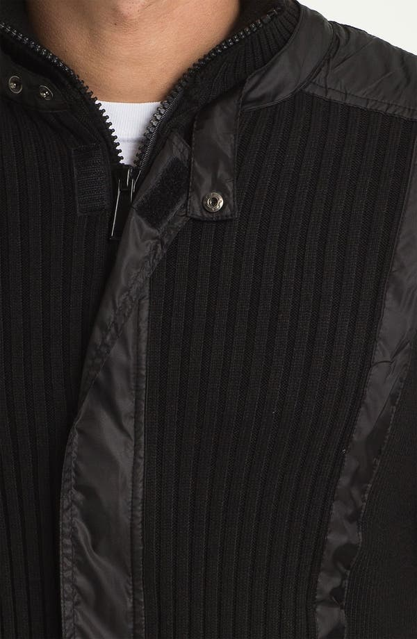 Alternate Image 3  - Paul Black Zip Sweater