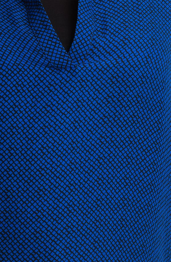 Alternate Image 3  - Scilla by Dora Landa Split V-Neck Silk Tunic (Plus)