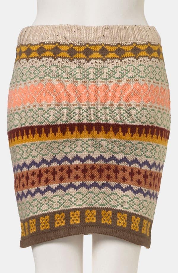 Alternate Image 2  - Topshop Nordic Knit Sweater Skirt