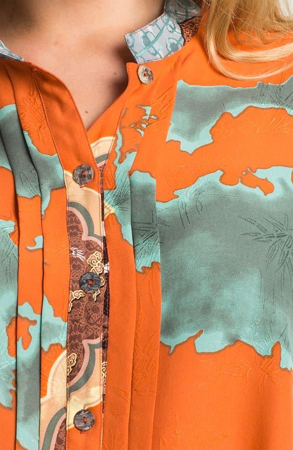 Alternate Image 3  - Citron Pleated Placket Jacket (Plus)