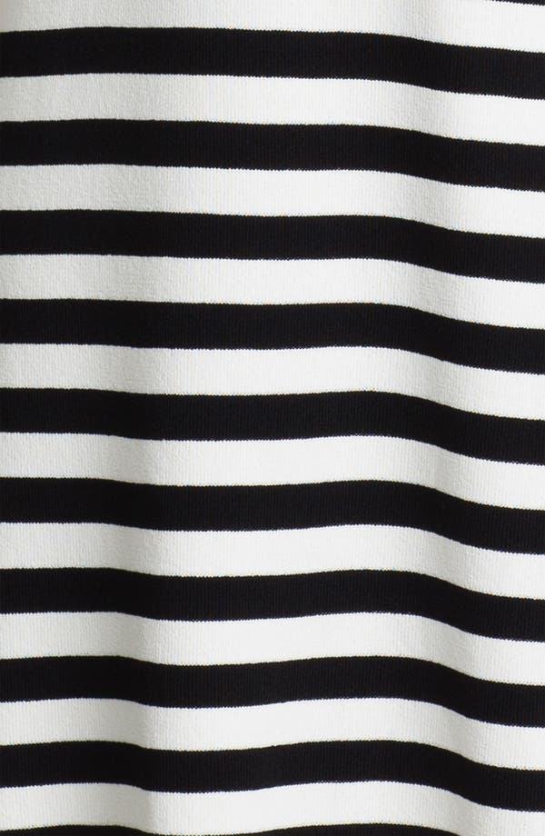 Alternate Image 3  - Calvin Klein Cap Sleeve Stripe Sweater Dress