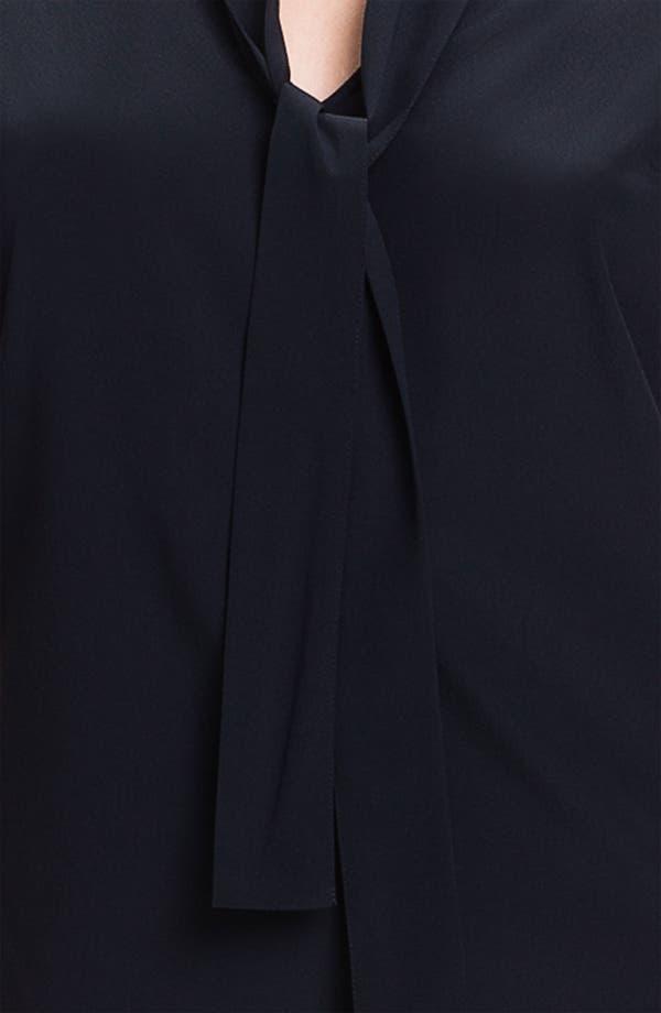 Alternate Image 3  - St. John Collection Cap Sleeve Crepe Top