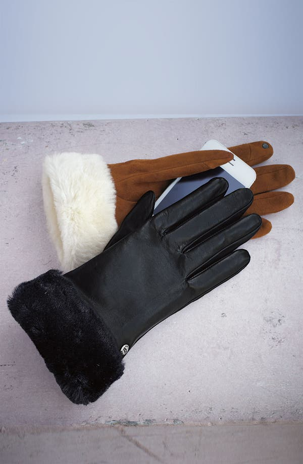 Alternate Image 2  - UGG® Australia 'Fashion Shorty' Tech Glove