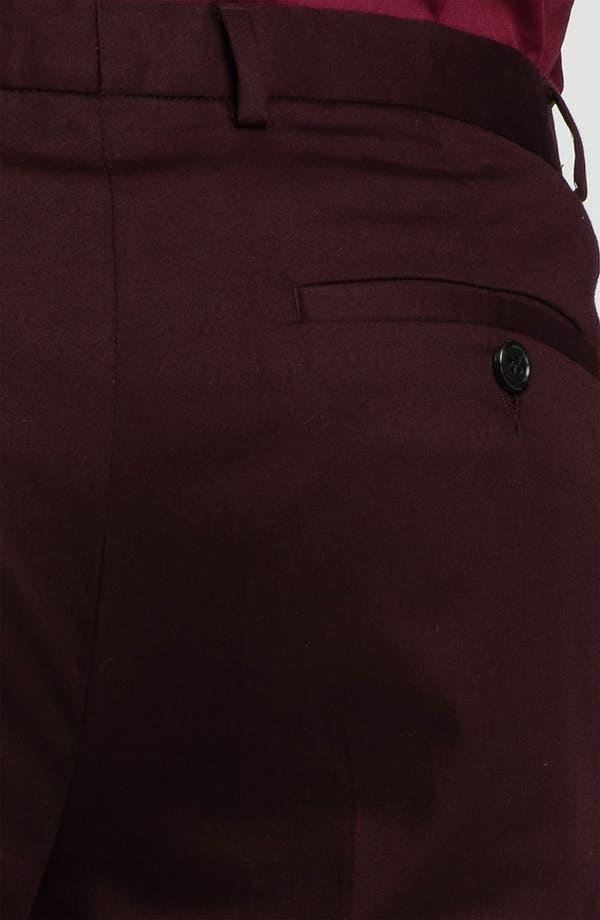 Alternate Image 3  - Topman Skinny Cotton Trousers