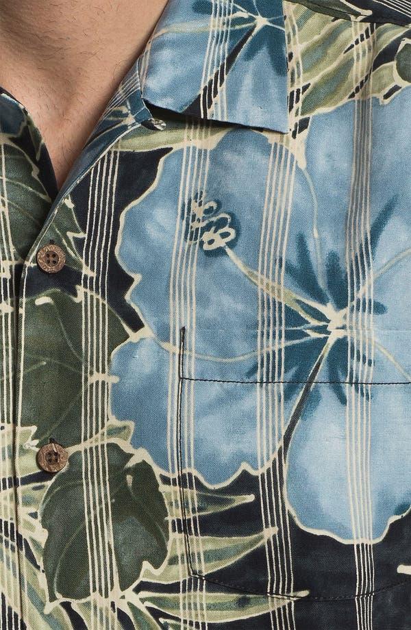 Alternate Image 3  - Tommy Bahama 'Garden of Hope Courage' Linen & Silk Campshirt