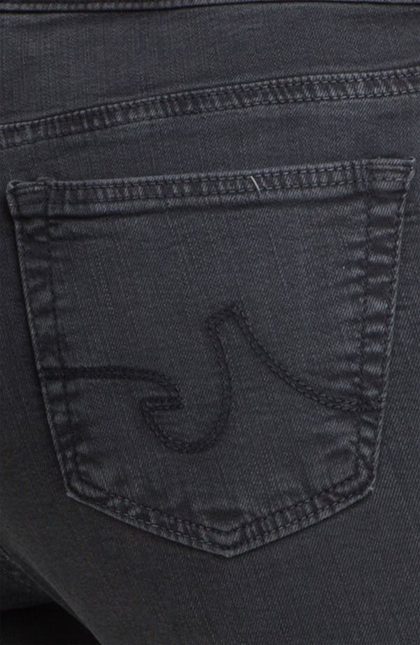 Alternate Image 3  - AG Jeans 'The Legging' Super Skinny Jeans (Grey)