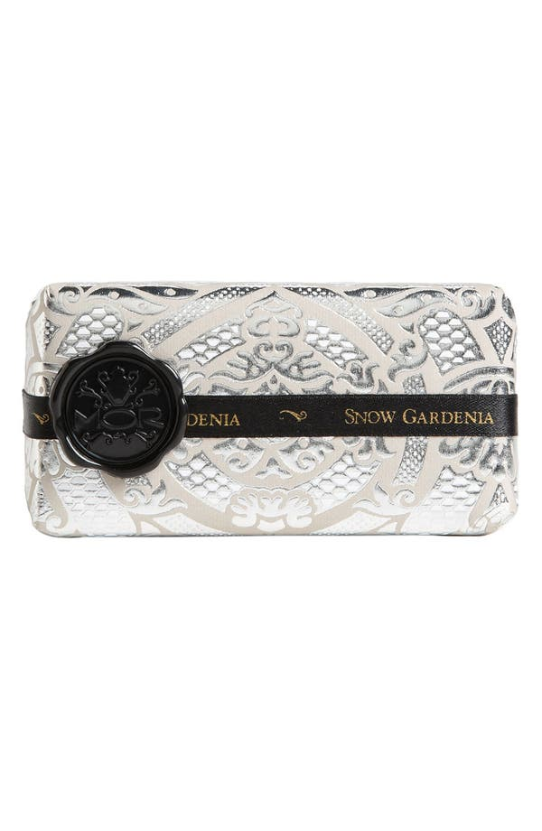 Alternate Image 1 Selected - MOR 'Emporium Black Collection - Snow Gardenia' Soap Bar