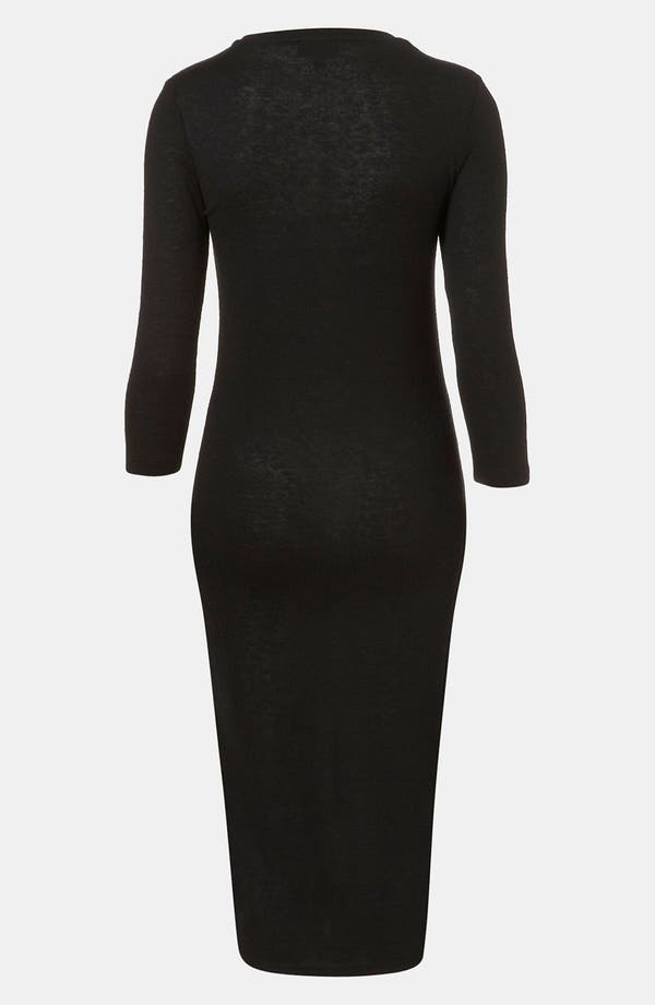 Alternate Image 2  - Topshop High/Low Midi Dress