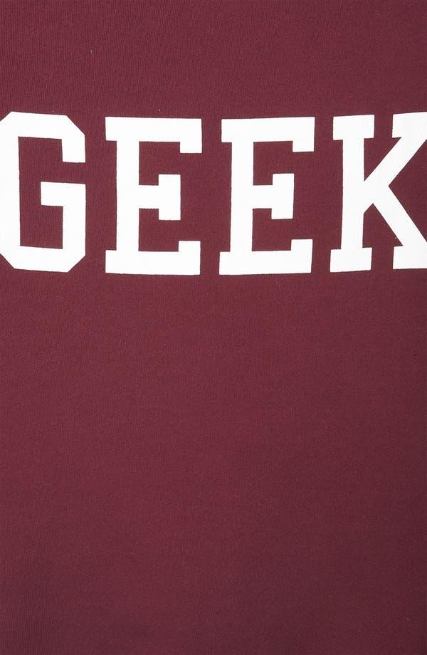 Alternate Image 3  - Topshop 'Geek' Sweatshirt (Petite)