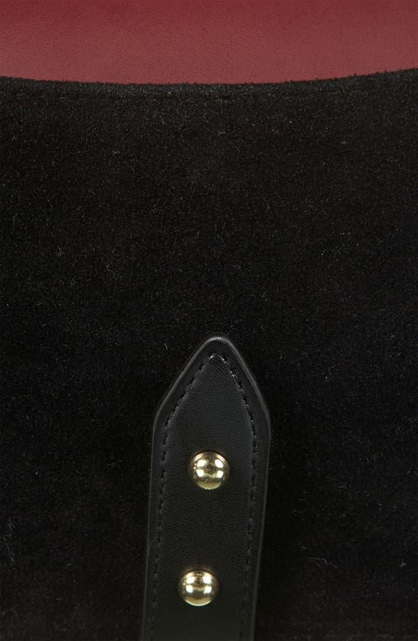 Alternate Image 4  - Topshop Stud Detail Crossbody Bag