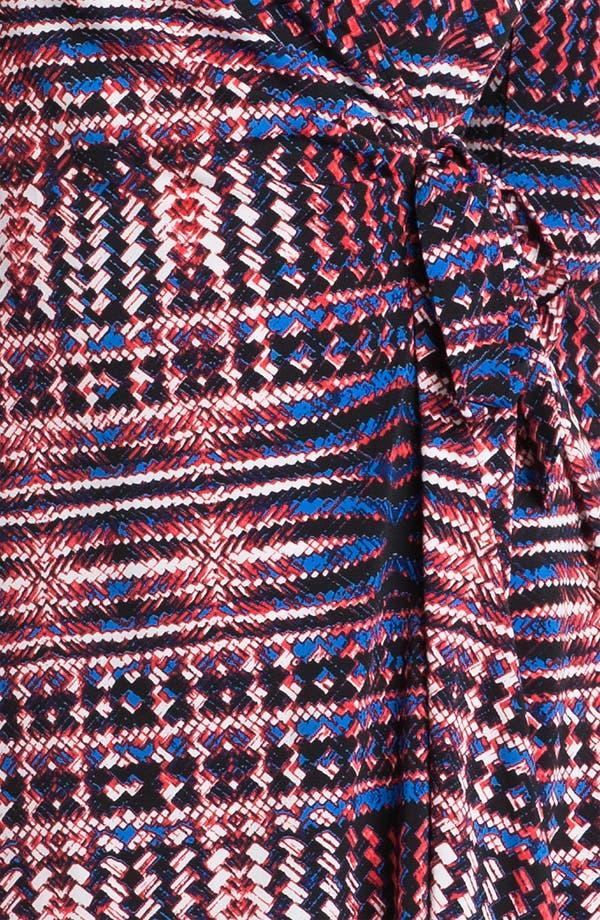 Alternate Image 3  - BCBGMAXAZRIA Print Wrap Dress