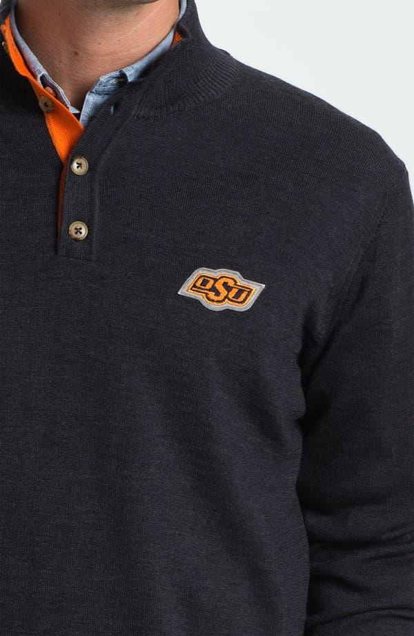 Alternate Image 3  - Thomas Dean 'Oklahoma State' Wool Sweater