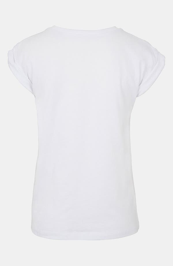Alternate Image 2  - Topshop 'Famous Glasses' Graphic Tee (Petite)