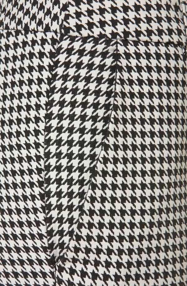 Alternate Image 3  - Topshop Houndstooth Cigarette Pants