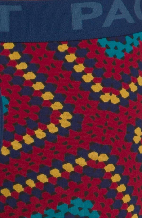 Alternate Image 3  - Pact Crochet Print Boxer Briefs