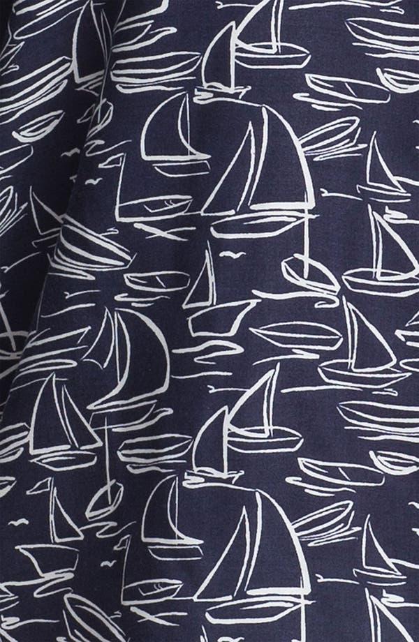 Alternate Image 3  - Foxcroft 'Sailing' Shaped Shirt (Plus)