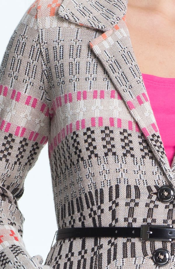 Alternate Image 3  - Nic + Zoe Belted Knit Jacket (Petite)