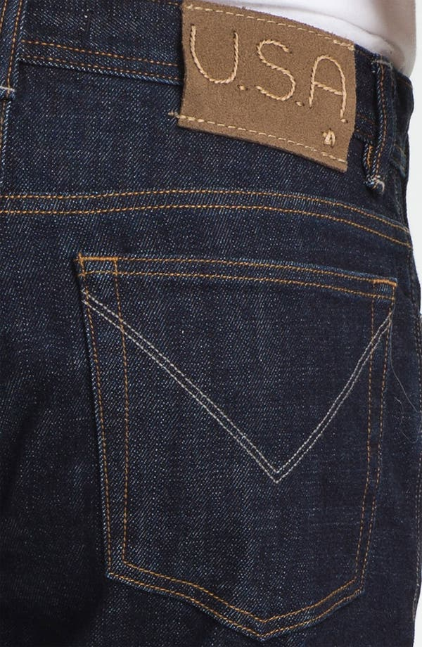 Alternate Image 4  - John Varvatos Star USA Straight Leg Jeans (Indigo)
